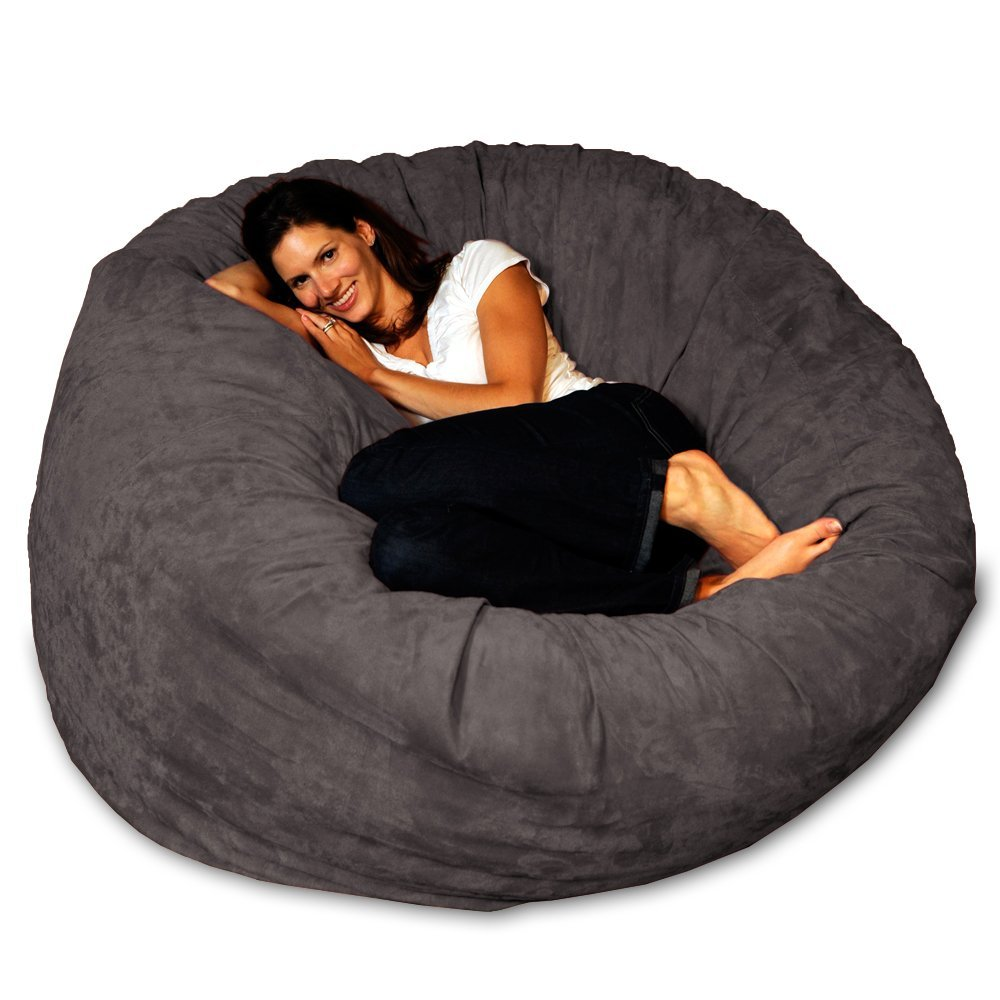 10.-Chill-Bag-Bean-Bags-Bean-Bag-Chair-5-Feet-Charcoal